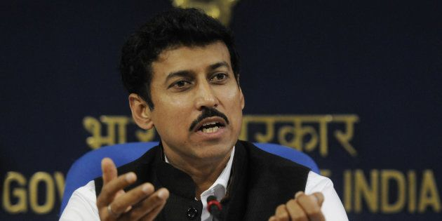 Rajyavardhan Singh Rathore, Union Minister of State for Information and Broadcasting.