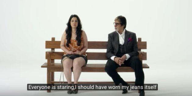 Amitabh Bachchan Is In Yet Another Video On Women's Issues And No One's