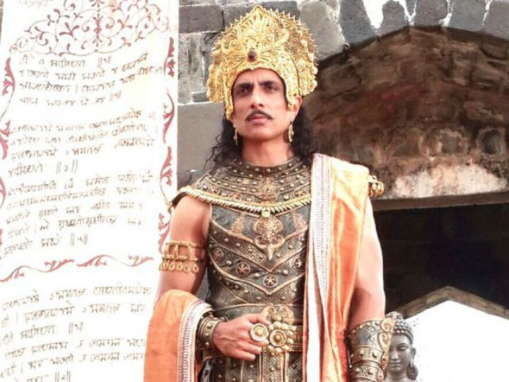 Sonu Sood in a still from Xuanzang