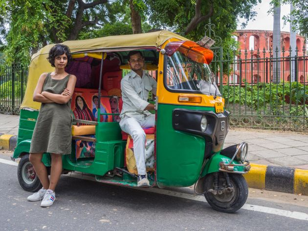 This Designer Autorickshaw In Delhi Celebrates Women Leaders In