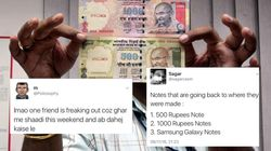 These Hilarious Jokes On ₹500 And ₹1,000 Notes Will Calm You Down In Case You Are Freaking