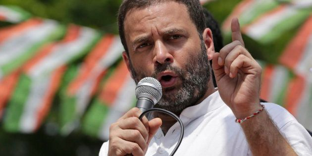 File photo of Congress party Vice President Rahul