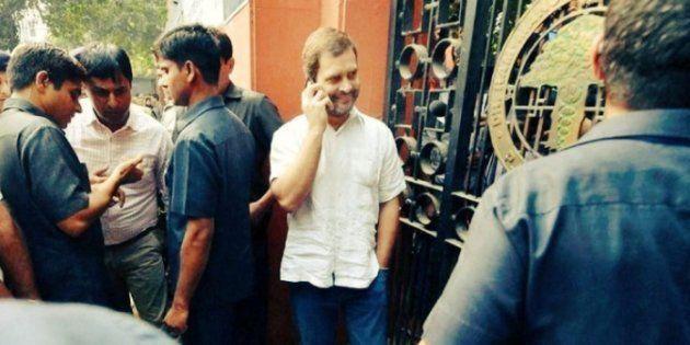 Rahul Gandhi's Smiling Face At Ex-Serviceman Ram Kishan Grewal's Funeral Rubs Twitter The Wrong