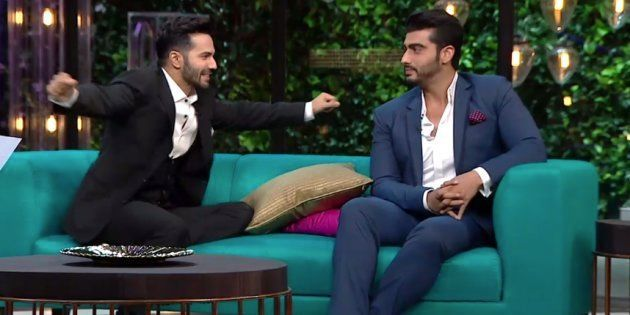 5 Seriously Candid Confessions Varun Dhawan And Arjun Kapoor Made On 'Koffee With