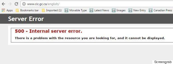 Canada's Immigration Site Crashed On U.S. Election