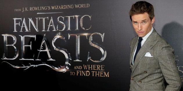 Actor Eddie Redmayne attends the premiere of