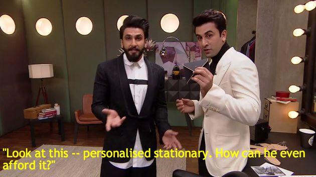 9 Times Ranbir Kapoor And Ranveer Singh Stole The Show On 'Koffee With
