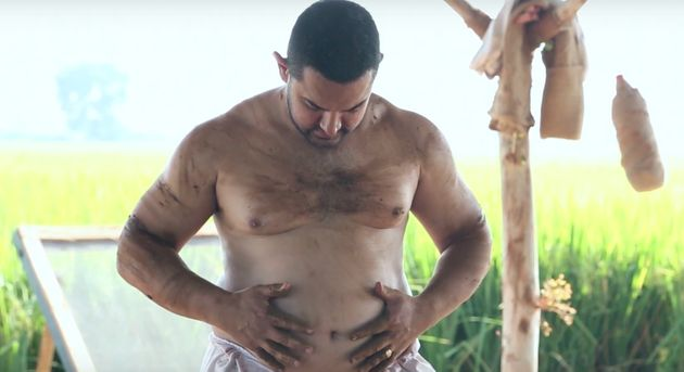 WATCH: Aamir Khan's Fat-To-Fit Transformation For 'Dangal' Will Give You Some Major
