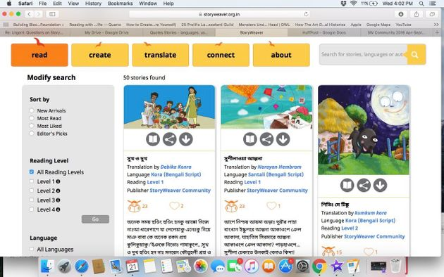 An Online Project Plans To Publish Thousands Of Children's Stories In Over 65 Languages Completely Free...