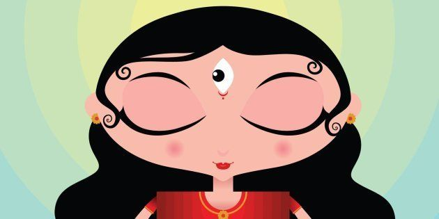 Delhi Artist Simplifies Story Of Durga And Mahishasur For Kids In
