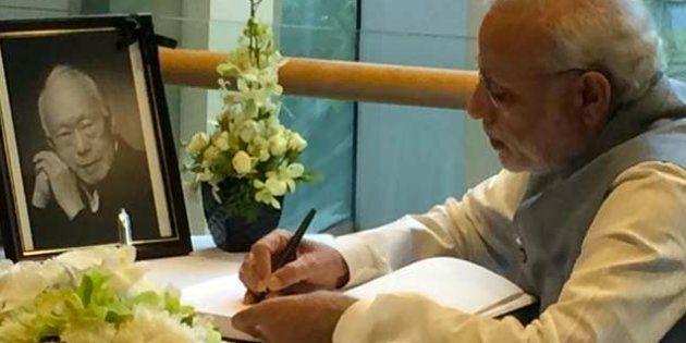 Prime Minister Narendra Modi writes in the condolence
