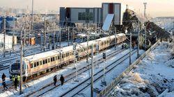 터키 고속철 충돌사고로 7명이 죽고 수십명이