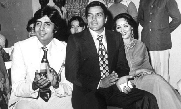This Is How Amitabh Bachchan Wished His 'Sholay' Co-Star Dharmendra On His 80th