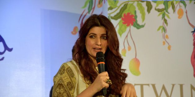 Twinkle Khanna at the launch of her second book, The Legend of Lakshmi Prasad, published by Juggernaut