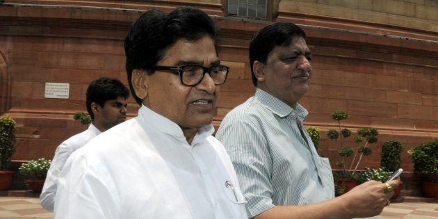 Samajwadi party leader and Rajya Sabha member Ram Gopal Yadav in a file