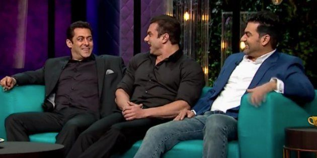 Celebrities Never Get Away With Anything, Says Salman Khan On 'Koffee With
