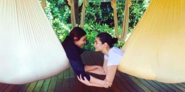 PHOTOS: Alia Bhatt Chills With Her Fam In Maldives As Holiday Season Kicks