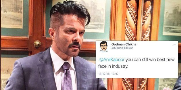 Anil Kapoor's New Hairdo Is Creating Waves On The