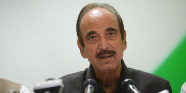 Ghulam Nabi Azad's Comparison Of Uri And Demonetisation Deaths Expunged From The