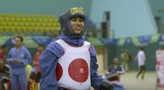 Patriarchy Couldn't Stop This 14-Year-Old Muslim Girl From Becoming A Wushu Martial Arts