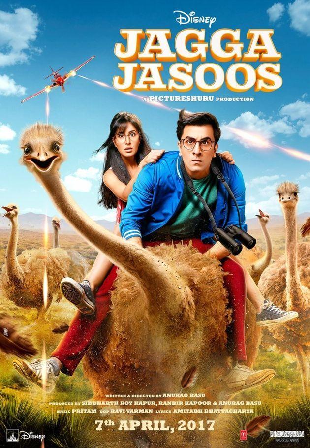 Ex-Lovers Ranbir Kapoor And Katrina Kaif Look Adorable In The First Poster Of 'Jagga