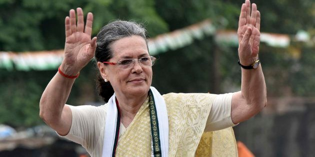File photo of Congress President Sonia