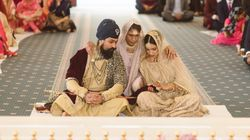 This Sikh Bride Broke The Norm By Having Her Single Mother Perform Her Wedding