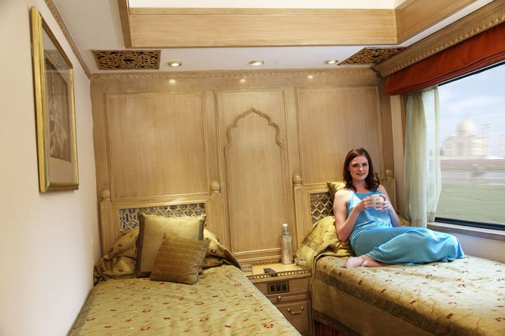 The train only has one presidential suite, which has two bedrooms with bathrooms and a sitting-cum-dining room.