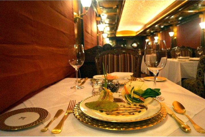 The restaurants serve a mix of Indian and international cuisine.