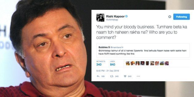 Here's Why Rishi Kapoor Is Asking People To Mind Their Own Business On