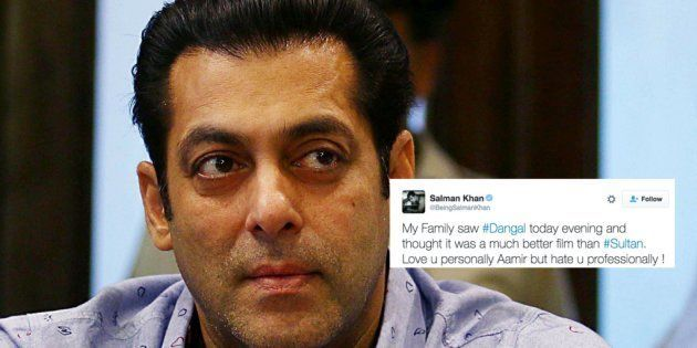 Here's Why Salman Khan Hates 'Dangal' Star Aamir Khan