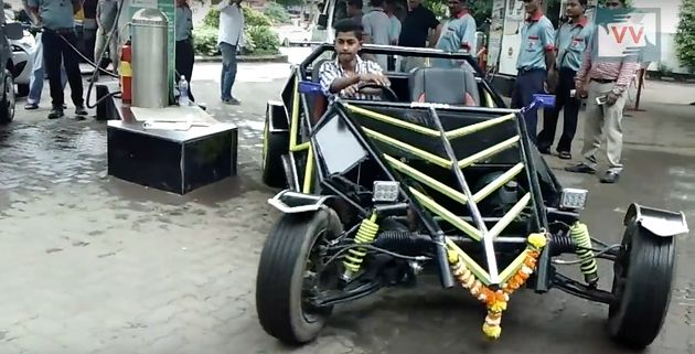 This 19-Year-Old Built His Own Car By Watching YouTube