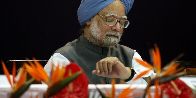 Former prime minister Manmohan Singh in a file
