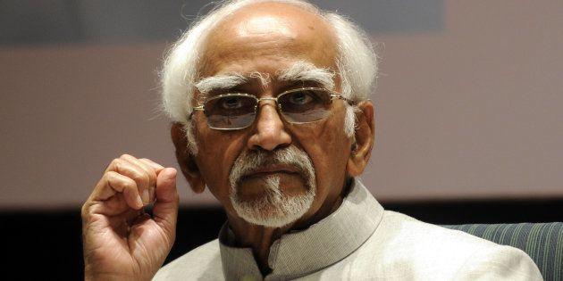 Vice President Hamid Ansari. (Photo by Sonu Mehta/Hindustan Times via Getty