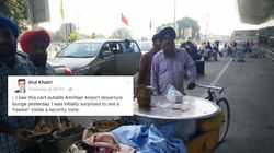 This 'Mobile Langar' Outside Amritsar Airport Feeds Hungry People For
