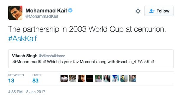 Mohammad Kaif Was Brutally Honest (And Funny) In His Twitter Q&A