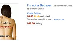 You Can Now Buy Yourself A Copy Of 'Sonam Gupta Bewafa Nahi Hai' On