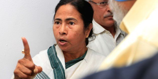 West Bengal chief Minister Mamata Banerjee express her anger to Deputy chairman Planning commission Montec...