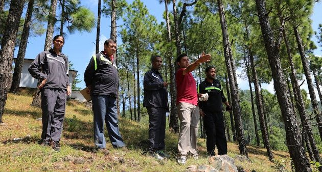Efforts of watershed management are being made at Digtoli