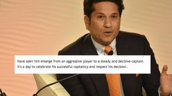 Sachin Tendulkar's Heartfelt Note To Dhoni After He Stepped Down As Limited-Overs Captain Sums It