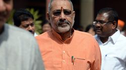 Giriraj Singh's Statement On Mass Sterilisation His Personal Opinion, Says