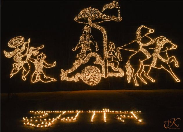 The Way IIT Kharagpur Celebrates Diwali Is Absolutely