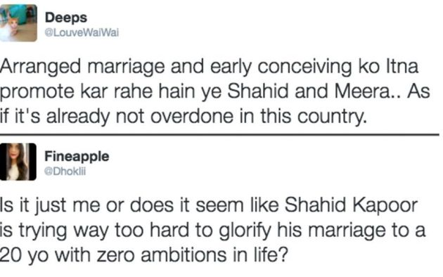 Shahid Kapoor Has A Pretty Chill Response To Those Accusing Him Of Propagating 'Arranged