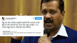 Arvind Kejriwal Takes A Dig At PM Modi For Tweeting About Meeting His