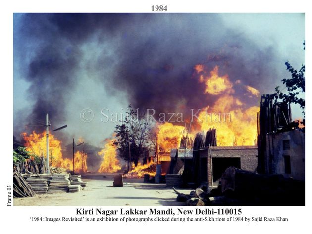Thirty Years After Photographing The 1984 Riots, This Delhi Man Took Photos At The Same