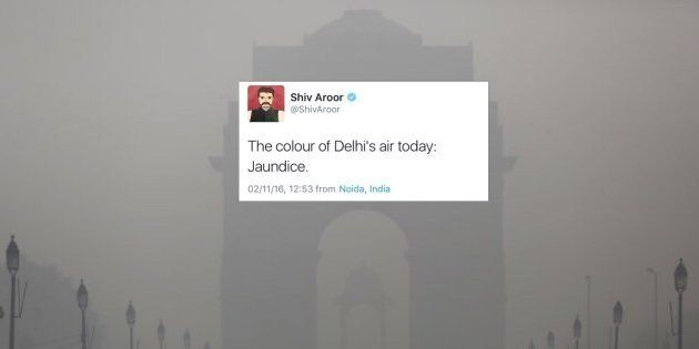 Delhi's Choking In The Smog, But Thankfully, It's Bright And Funny On