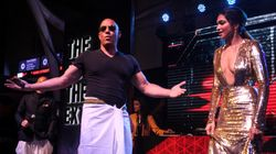 Vin Diesel Poses In A 'Lungi' With Deepika Padukone At The Star-Studded Mumbai Premiere Of