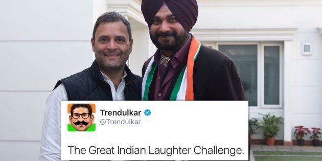 Twitter Has A Field Day As Navjot Singh Sidhu Starts A New Inning With The
