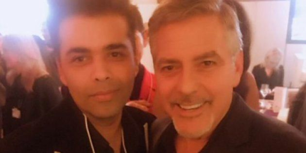 So Karan Johar Was In Davos And Happened To Bump Into, Well, George