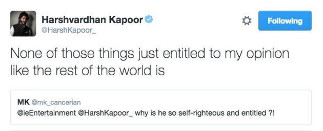 Harshvardhan Kapoor Is Pissed About Diljit Dosanjh Winning Filmfare Best Debut Award Over